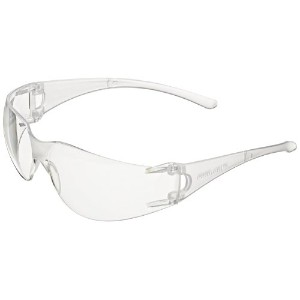 Jackson Safety 25627 V10 Element Safety Glasses, Clear Lenses with Clear Frame (Pack of 12) by Jackson Safety