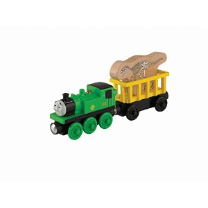 Fisher-Price Thomas Wooden Railway - Oliver's Fossil Freight (Tale of The Brave) (2-Pack) [並行輸入品]
