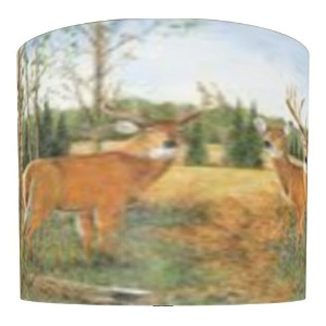 illumalite Designs Deer Prairie Shade, 11-Inch by Illumalite Designs