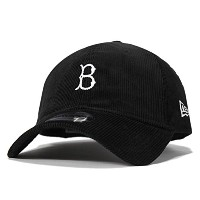 (ニューエラ) NEW ERA 9TWENTY MINI LOGO BROOKLYN DODGERS BLACK CORDUROY [並行輸入品]