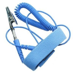2X Anti Static Adjustable Elastic Wrist Strap With Coiled Cord by Esky Mall [並行輸入品]
