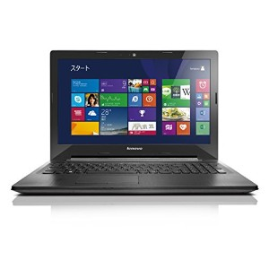 Lenovo ノートパソコン G50 [Windows10無料アップデート対応](Windows 8.1 Update 64bit/Office Home & Business 2013...