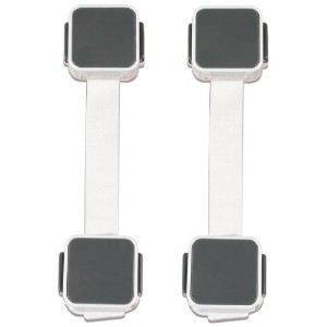 Munchkin Xtraguard Dual Action Multi Use Latches, 2-Count【並行輸入品】