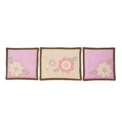 Sumersault Fiona Wall Hanging, Pink by Sumersault
