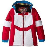 686 15-16 2016 BOYS Transformer Autobot Insulated Jacket ジャケット キッズ スノーウェア M Optimus Red
