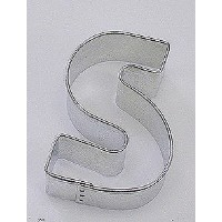Stainless Steel Alphabet Cookie Cutter (s)