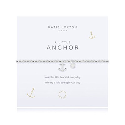 Katie Loxton A Littleアンカーブレスレット