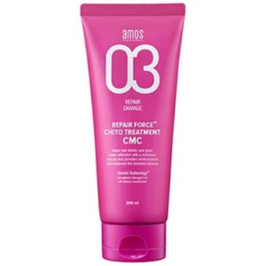◆Amos◆ Repair Force ChitoTreatment CMC 200ml for dry  damaged hairダメージケア、センシティブケア、トリートメント