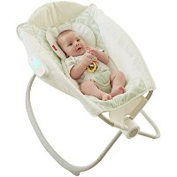 Fisher-Price Deluxe Newborn Auto Rock 'n Play Sleeper with Smart Connect by Fisher-Price