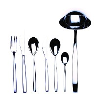 Mepra 39-piece Stiria Flatware Serving Set