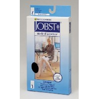 Jobst 115331 Opaque OPEN TOE 15-20 mmHg Knee Highs - Size & Color- Natural Small by Jobst