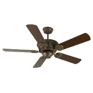 Craftmade K10871 Chaparral Ceiling Fan with Plus Series Aged Bronze Blades, 52, Aged Bronze...