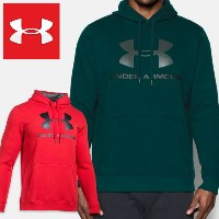 UNDER ARMOUR MENS Rival Fitted Graphic Hoodie アンダーアーマー メンズ フード付き プルオーバー パーカー
