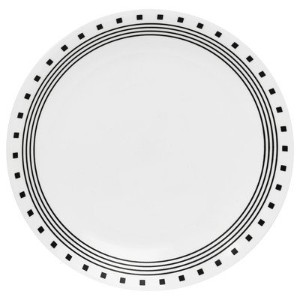 【Livingware 10.25 City Block Dinner Plate [Set of 6] by CORELLE】 b00sc0qnjc