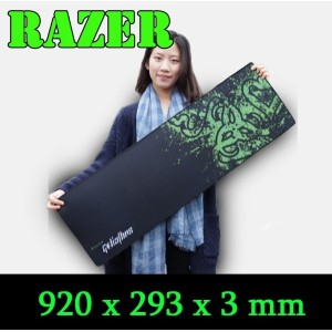 Razer mouse pad BIG SIZE 920mm mouse pad Gaming Edition locking edge