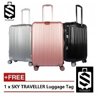 SKY TRAVELLER SKY280 2-In-1 Premium Ultralight Luggage Set (22+26 Inch)