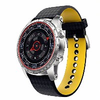 KingWear GSM/3Gスマートウォッチ Smart Watch 1.39インチ 1.3GHz MTK6580 Android 5.1操作システム 512MB/8GB GPS WiFi...
