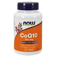 NOW Foods Coq10 100mg, 150 Softgels 海外直送品