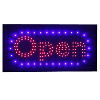 BMLED Open LEDネオンサインアニメーション+スイッチON / OFF withチェーン