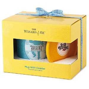 Hallmark Exclusive Wizard of Oz 2016 Brainy Mug withコースターセット – # woz1064