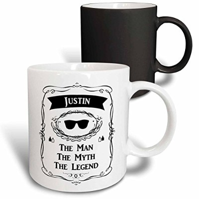 InspirationzStore The Man The Myth The Legend – Justin the Man the Myth the Legend – 個人名パーソナライズされたギフ...