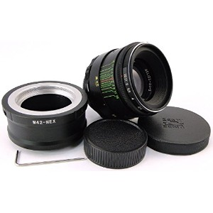 ヘリオス44-2 !!NEW!! HELIOS 44-2 58mm F2 Russian Lens + adapter E-Mount Sony NEX F3 5 5N 5R 5T 6 A 7 7R 7S II (for E-mount cameras)