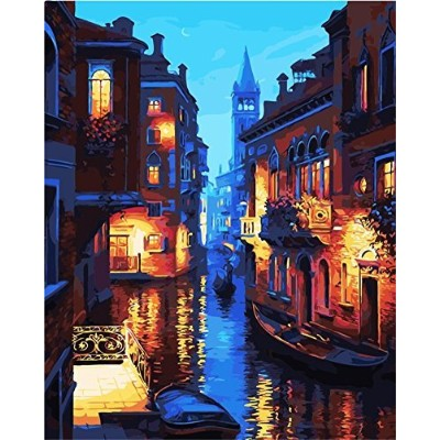 (Without Frame) - New arrival DIY Oil Painting by Numbers Kit Theme PBN Kit for Adults Girls Kids...