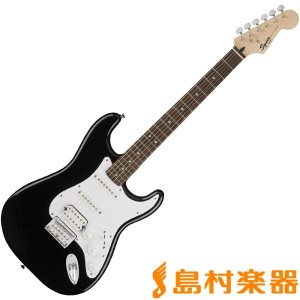 Squier by Fender Bullet Strat HSS HT Black ストラトキャスター エレキギター 【スクワイヤー by フェンダー】