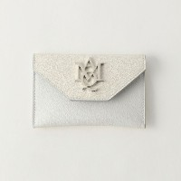 SALE【GUILD PRIME ギルドプライム】 【ALEXANDER McQUEEN】財布-Insignia Envelope Card Holder 439197DN15I- ホワイト...