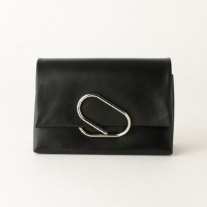 SALE【ギルドプライム(GUILD PRIME)】 【3.1 Phillip Lim】バッグ-ALIX SOFT FLAP CLUTCH AH16-A038- ブラック