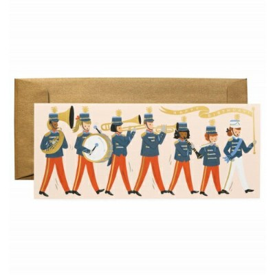RIFLE PAPER CO. | MARCHING BAND BIRTHDAY | グリーティングカード