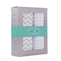 Pack N Play Portable Crib Sheet Set 100% Jersey Cotton Unisex for Baby Girl and Baby Boy by Ely's &...