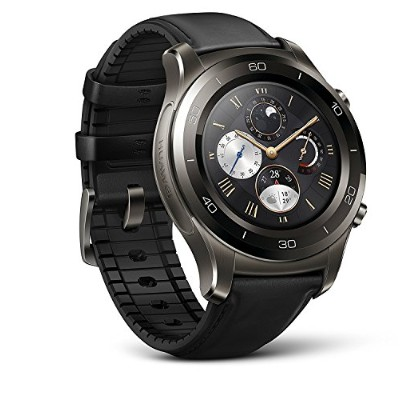 Huawei Watch 2 Classic - Titanium Grey - Android Wear 2.0 (US Warranty) [並行輸入品]