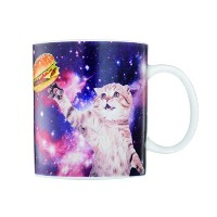 GIFT Republic Cat in Space Mugマルチカラー