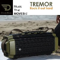 Dreamwave TREMOR 大音量 Bluetooth スピーカー グリーン # TRE-GRE (Bluetooth無線スピーカー) [PSR]