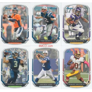 2013Bowman NFL Football Completeミント220カードセットMade by Topps ; It Was Never工場フォームで発行されます。Loaded With...