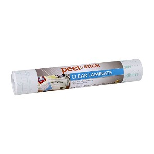 Duck Brand 1115496 Peel N' Stick Laminate Adhesive Shelf Liner, 12-Inch x 36-Feet, Clear [並行輸入品]