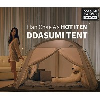 DDASUMIファブリック署名屋内テント2017–4doors、Prevent Coldness、再生テント