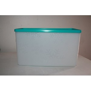 Tupperware freeze-it Medium Deep長方形with Tropical Water Seal