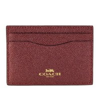 COACH OUTLET コーチ アウトレット カードケース レディース レッド F23339 IME42 【ccoa】