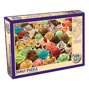 【More Ice Cream A 400 Piece Jigsaw Puzzle by Cobble Hill by Cobble Hill】 b00b5dzasi