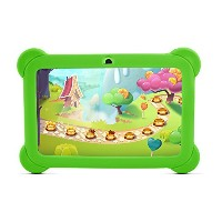 YUNTAB(JP)7インチタブレットPC Q88 tablet pc 1.5GHz Quad-core Android 4.4 HD1024*600 google play/WIFI (緑...