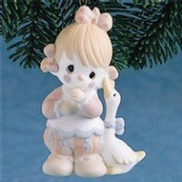 Precious Moments Girl Clown Waddle I Do Without You Ornament by Precious Moments