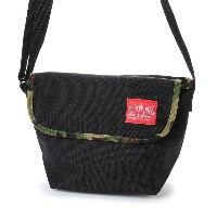 マンハッタンポーテージ Manhattan Portage 2tone Casual Messenger Bag (Black/W.Camo) レディース メンズ