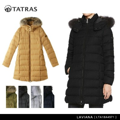 【送料無料】【2017-18 AW】『TATRAS-タトラス-』LAVIANA[LTA18A4571][ラビアナ ダブルジップ ファー フード ウール ダウンジャケット ダウンコート]
