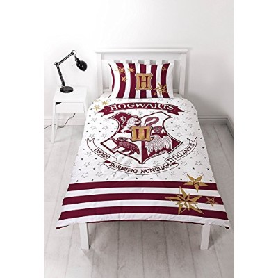 Harry Potter 'muggles' Single Duvet Set - Large Print Design