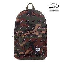 【HERSCHEL×INDEPENDENT】PACKABLE DAYPACK カラー:woodland camo 【ハーシェル】【インデペンデント】【スケートボード】【バッグ】
