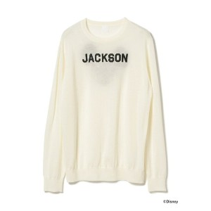 JACKSON MATISSE × BEAMS T / 別注 Mickey Mouse Club Knit ビームスT【送料無料】