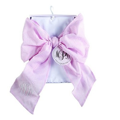 PINK BIG BOW SWADDLE