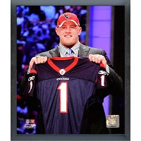 J。J。Watt Houston Texans NFL Draft Pick写真サイズ: 17 cm x 21 cm )フレーム